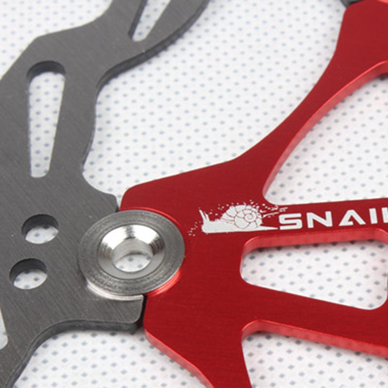 SNAIL-Velo-Cyclisme-Flottant-6-Boulon-Disque-De-Frein-Rotor-Plaquette-de-fre-7S9 miniature 4