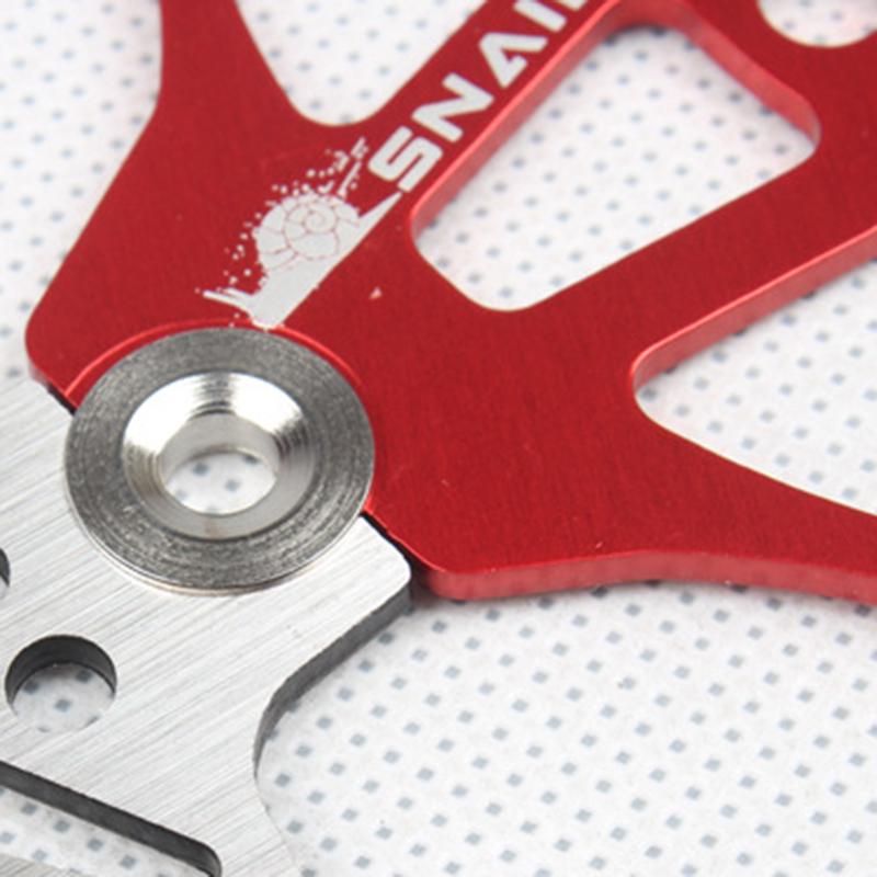 SNAIL-Velo-Cyclisme-Flottant-6-Boulon-Disque-De-Frein-Rotor-Plaquette-de-fre-7S9 miniature 6