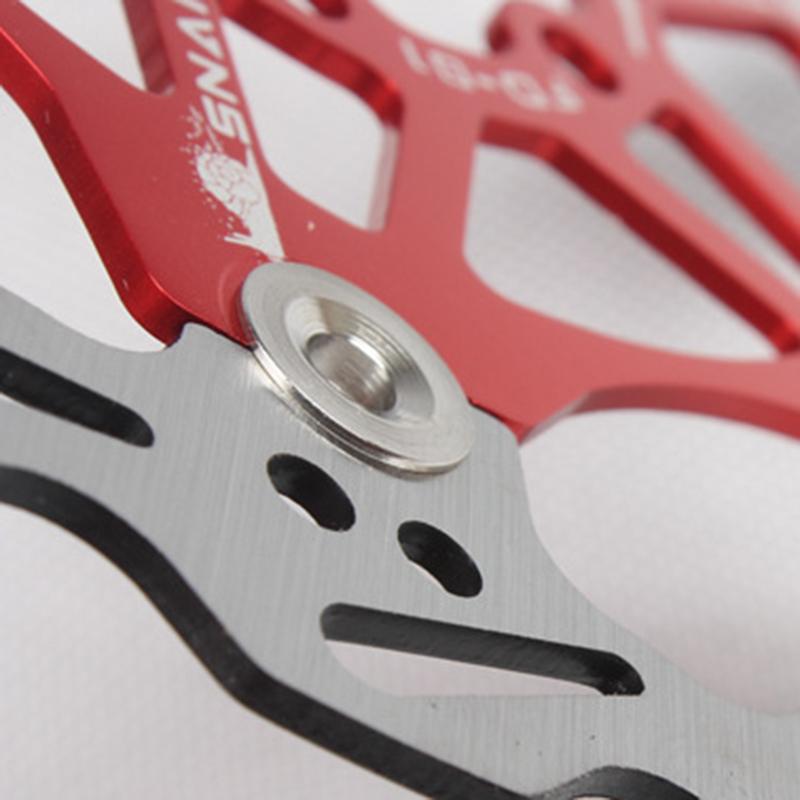 SNAIL-Velo-Cyclisme-Flottant-6-Boulon-Disque-De-Frein-Rotor-Plaquette-de-fre-7S9 miniature 7