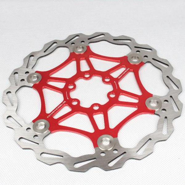 SNAIL-Velo-Cyclisme-Flottant-6-Boulon-Disque-De-Frein-Rotor-Plaquette-de-fre-7S9 miniature 8