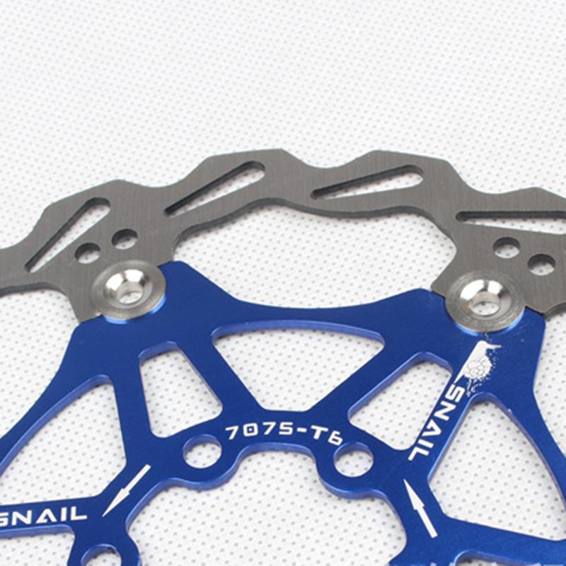 SNAIL-Velo-Cyclisme-Flottant-6-Boulon-Disque-De-Frein-Rotor-Plaquette-de-fre-7S9 miniature 20