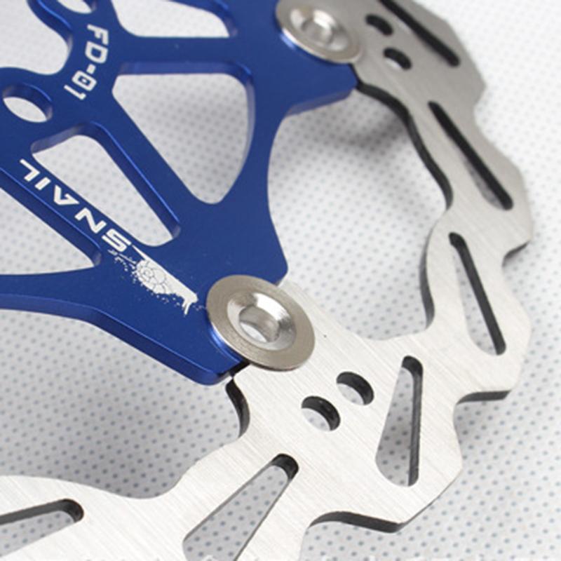 SNAIL-Velo-Cyclisme-Flottant-6-Boulon-Disque-De-Frein-Rotor-Plaquette-de-fre-7S9 miniature 21