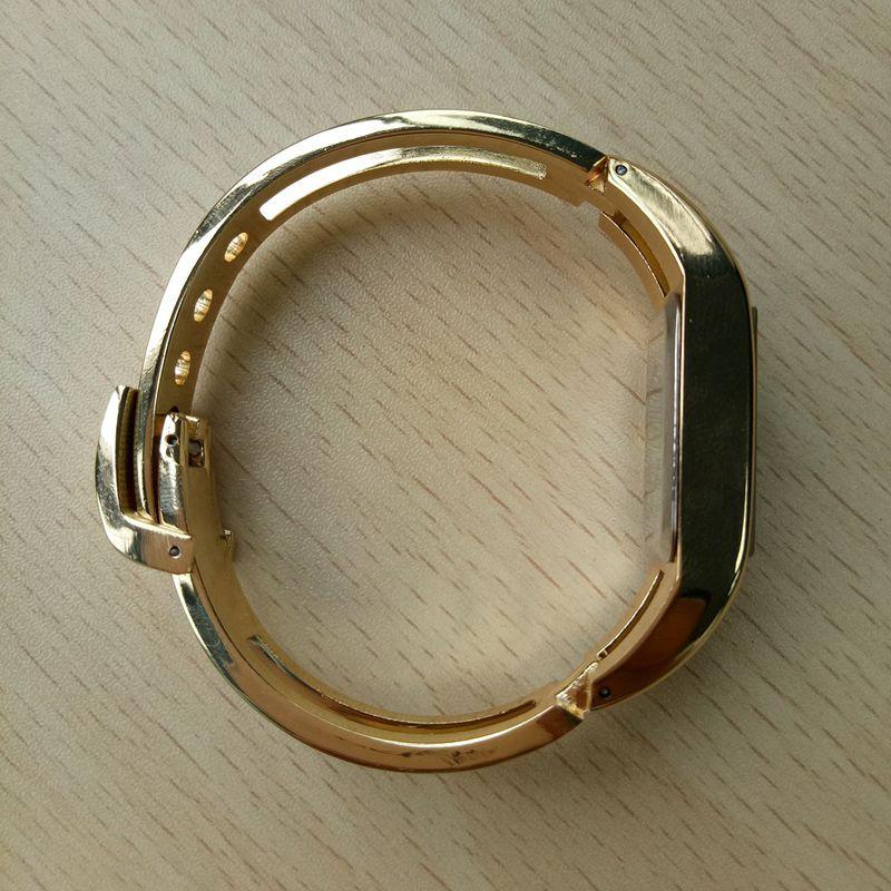 Chaoyada-Fashion-Luxus-Damen-Gold-Armbanduhr-Quarz-Armband-Uhr-u7x6 Indexbild 5