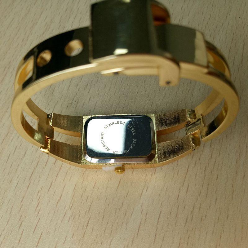 Chaoyada-Fashion-Luxus-Damen-Gold-Armbanduhr-Quarz-Armband-Uhr-u7x6 Indexbild 6