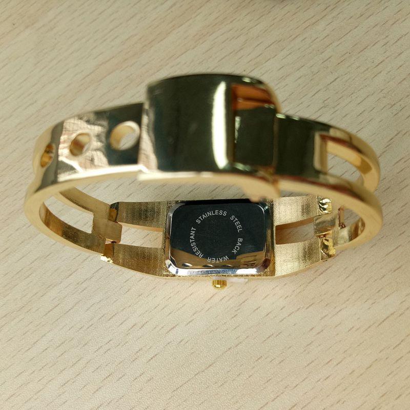 Chaoyada-Fashion-Luxus-Damen-Gold-Armbanduhr-Quarz-Armband-Uhr-u7x6 Indexbild 7