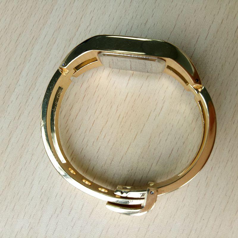 Chaoyada-Fashion-Luxus-Damen-Gold-Armbanduhr-Quarz-Armband-Uhr-u7x6 Indexbild 8