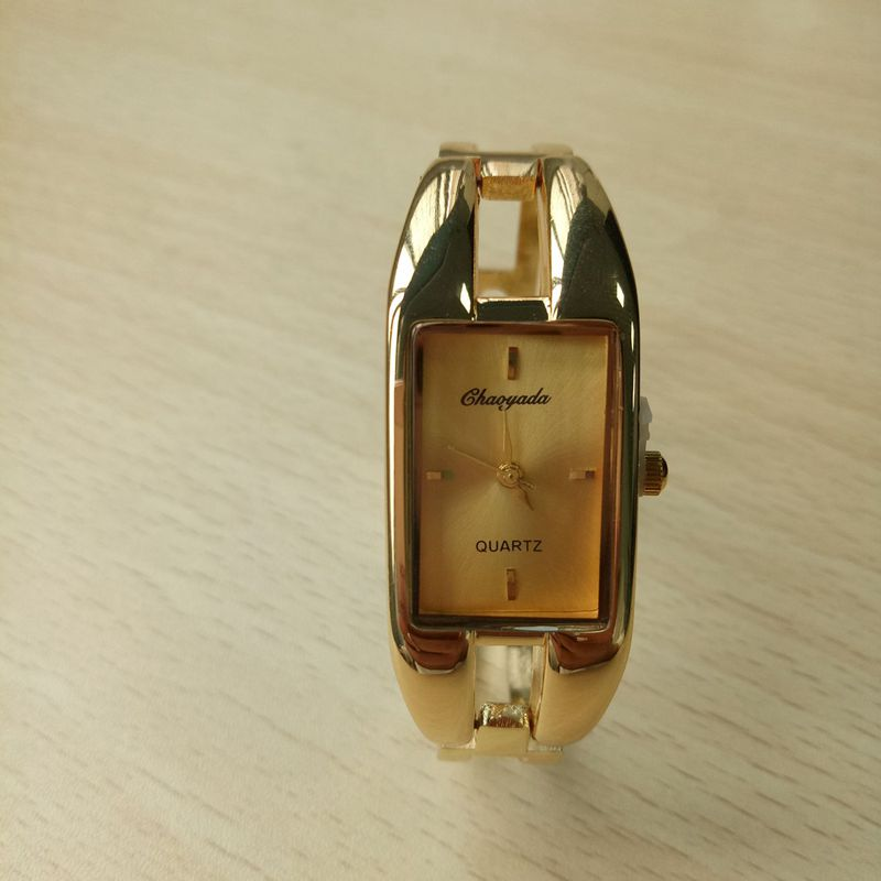 Chaoyada-Fashion-Luxus-Damen-Gold-Armbanduhr-Quarz-Armband-Uhr-u7x6 Indexbild 9