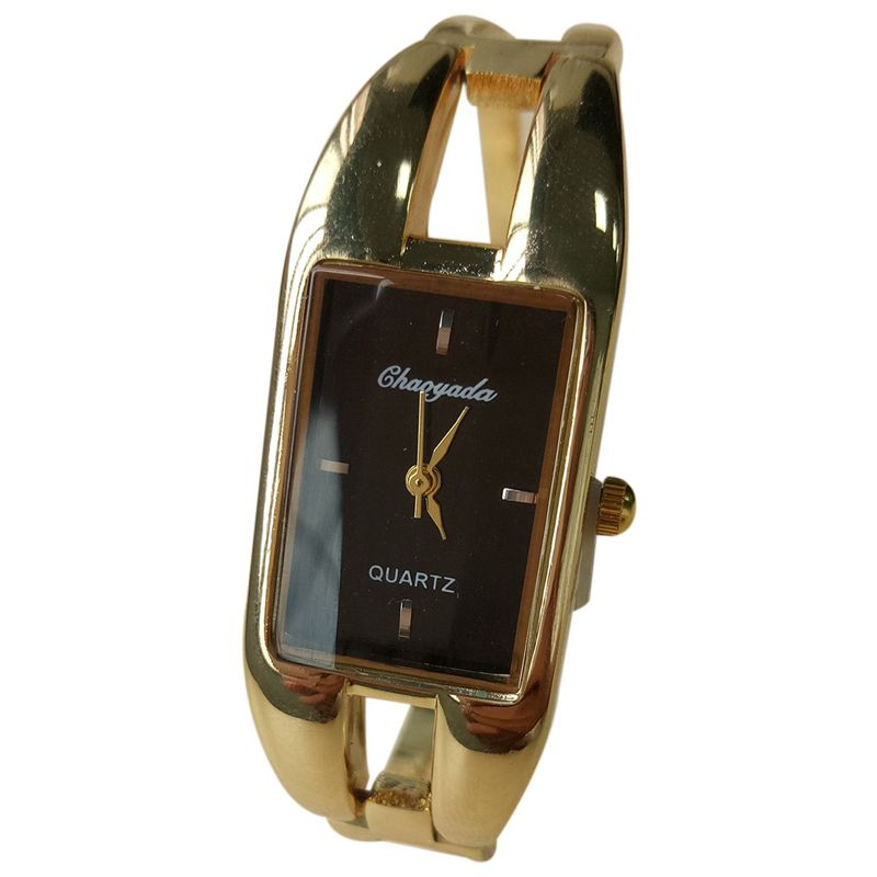 Chaoyada-Fashion-Luxus-Damen-Gold-Armbanduhr-Quarz-Armband-Uhr-u7x6 Indexbild 10