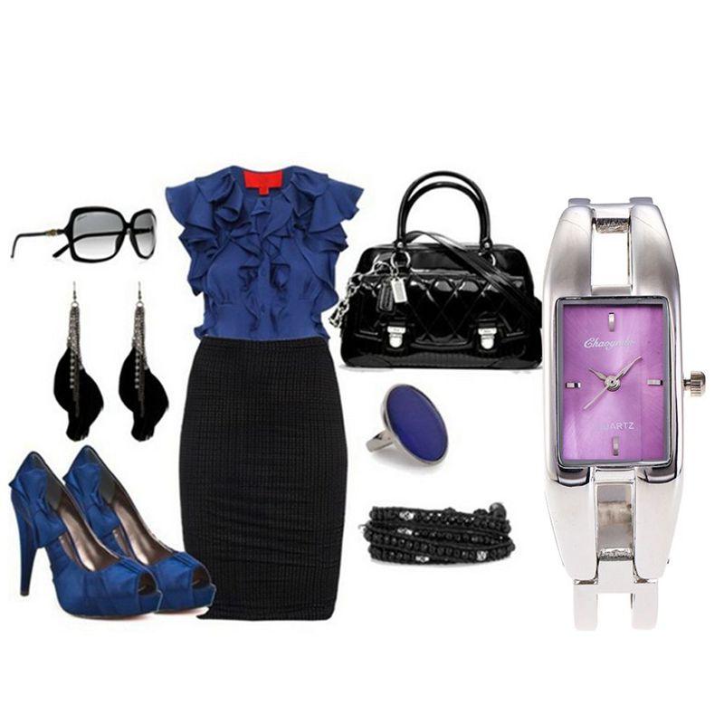 Chaoyada-Fashion-Luxus-Damen-Gold-Armbanduhr-Quarz-Armband-Uhr-u7x6 Indexbild 23