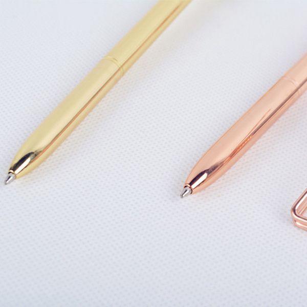 Luxus Metall Kugelschreiber Unterschrift Business Office Student schriftli V1H8