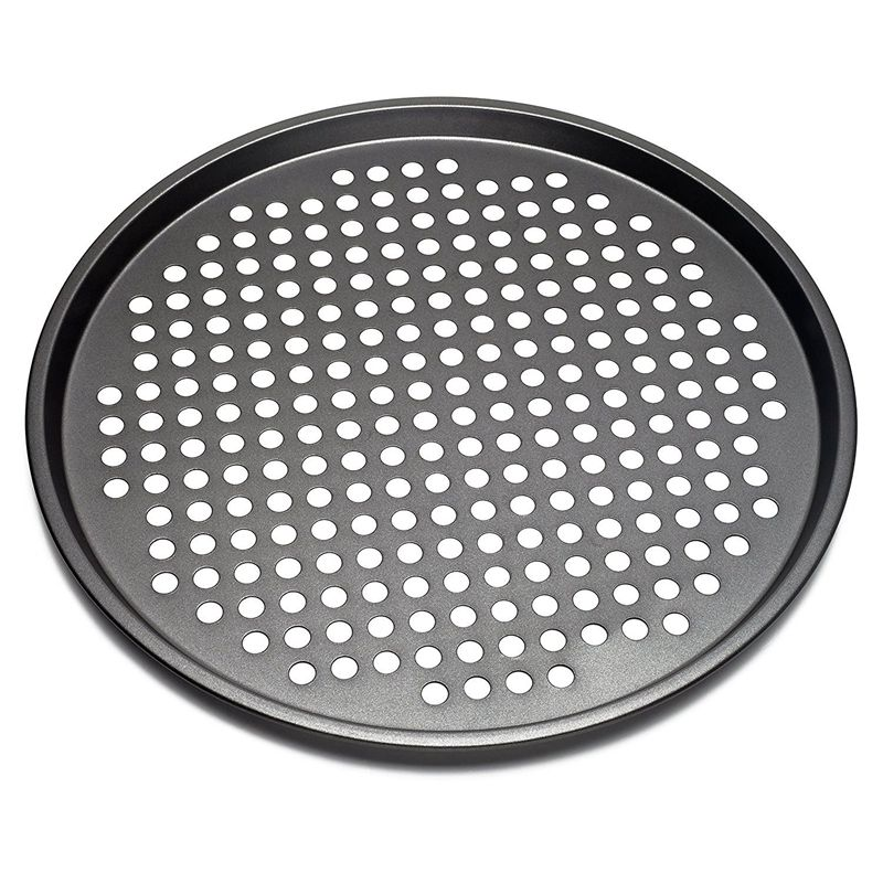 Carbon Steel Nonstick Pizza Baking Pan Tray 32cm Pizza