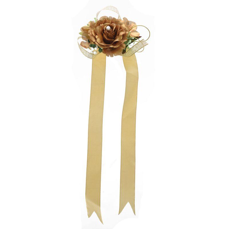 Wrist-Corsage-Bracelet-Bridesmaid-Hand-Flower-Wedding-Party-dark-blue-M3Q1 thumbnail 15