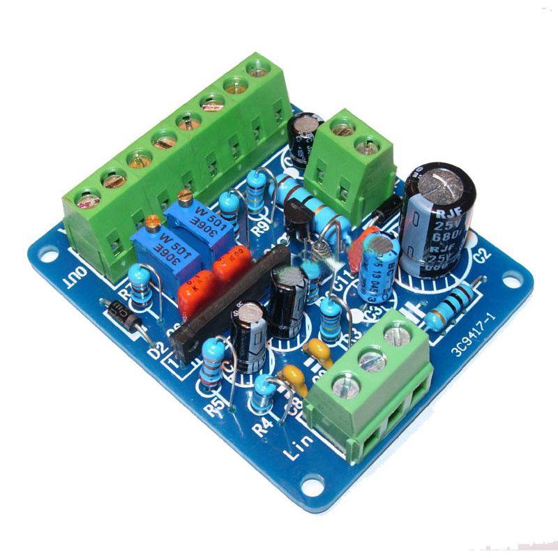 Audio Endstufe Antriebsmodul 2pcs VU Meter Verstärker Warme Rücklicht