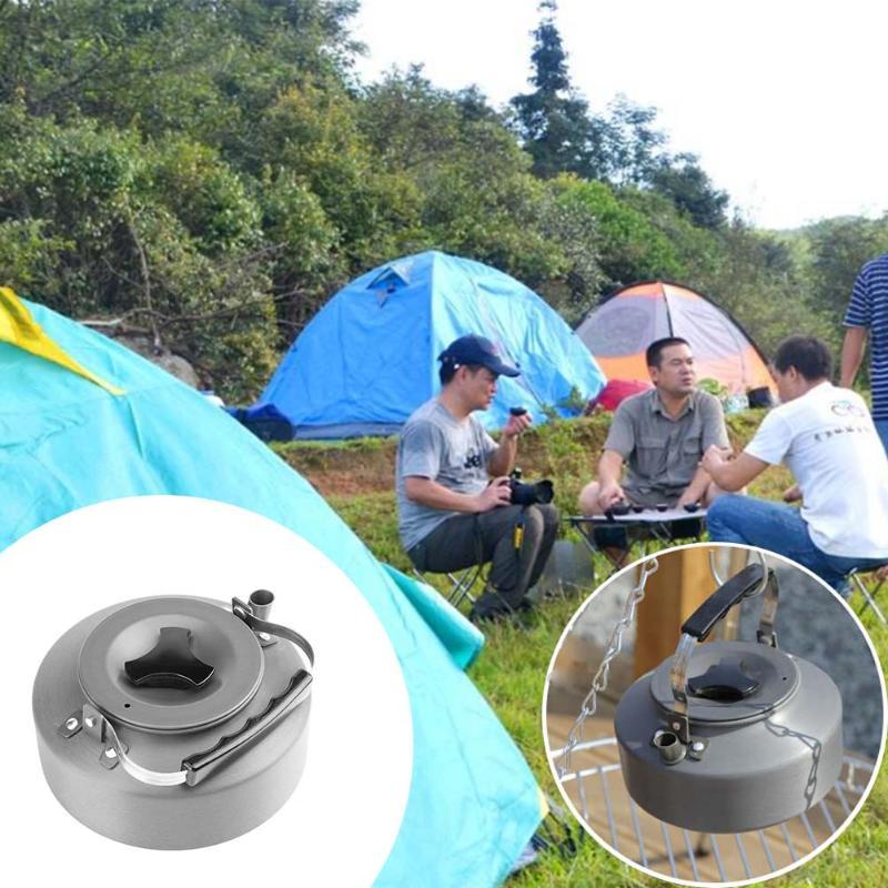 5X(1.1L Aluminiumlegierung Portable Ultra-leichte Teekanne Outdoor Camping H8P5 H8P5 H8P5 2f2399