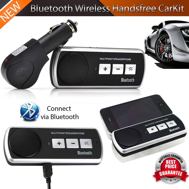 wireless bluetooth freisprecheinrichtung auto kit visor. Black Bedroom Furniture Sets. Home Design Ideas