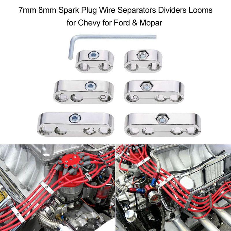 7MM 8MM Universell Zuendkerze Splitter / Motor Zuendkerze Verteiler ...