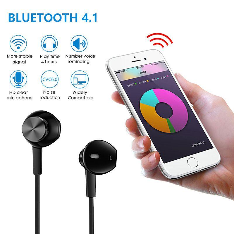 sport wireless bluetooth kopfhoerer v4 1 stereo lauf. Black Bedroom Furniture Sets. Home Design Ideas