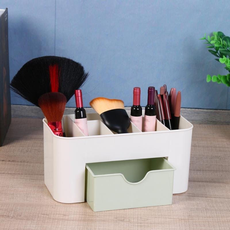 mini bureau maquillage boite de rangement cosmetique caisse rouge a levres i6l2 ebay. Black Bedroom Furniture Sets. Home Design Ideas