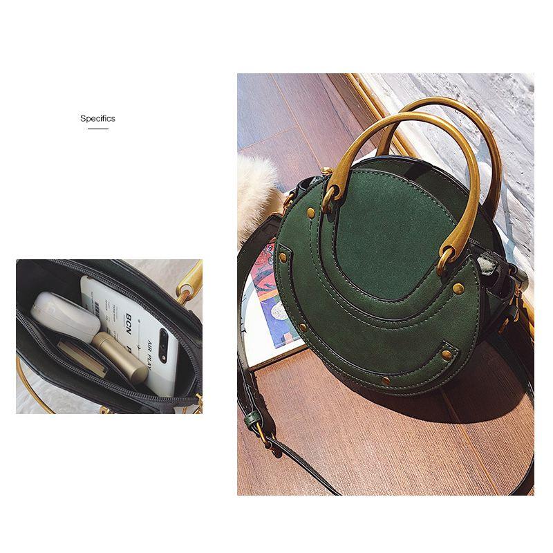 Sac-a-main-en-cuir-PU-givre-rond-pour-femmes-Sac-a-main-retro-Circulaire-Mini-G3 miniature 17