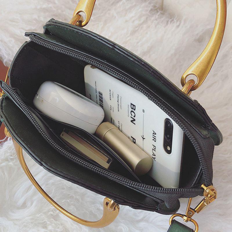 Sac-a-main-en-cuir-PU-givre-rond-pour-femmes-Sac-a-main-retro-Circulaire-Mini-G3 miniature 18