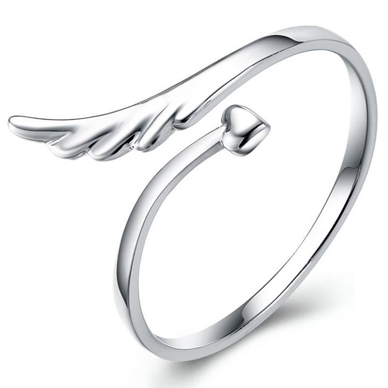 Joyeria-Anillo-de-mujer-plata-ley-en-forma-corazon-amor-ajustable-alas-angelP5