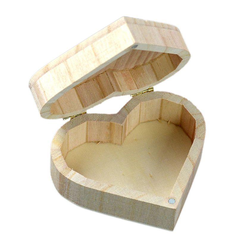 Multifunctional Jewelry Box Diy Art Decor Wooden Crafts Toys Gift Box G9e2 G9e2 Ebay