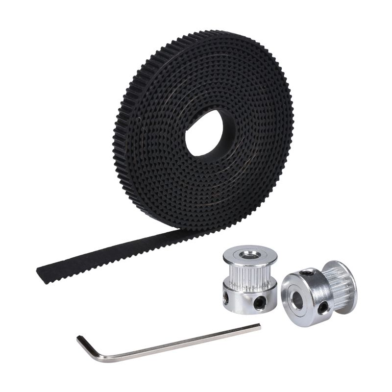 Piezas-de-la-impresora-3D-Kit-de-movimiento-Reprap-GT2-Polea-de-sincronizacio-ST