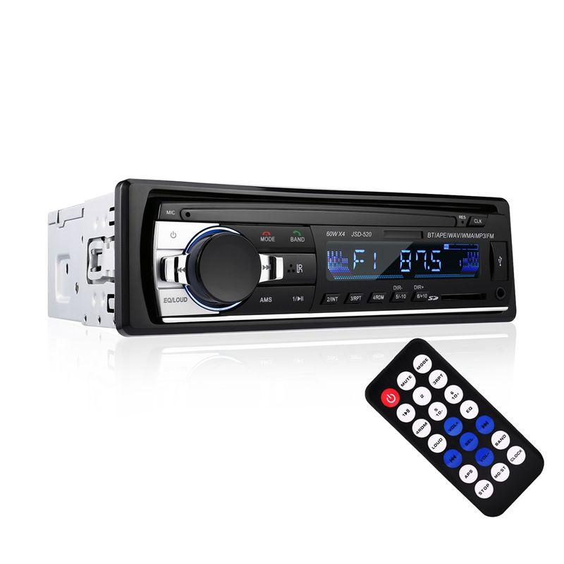 Bluetooth-Auto-Audio-Stereo-Receiver-Bluetooth-Auto-Stereo-Audio-Single-DIN-S1A8