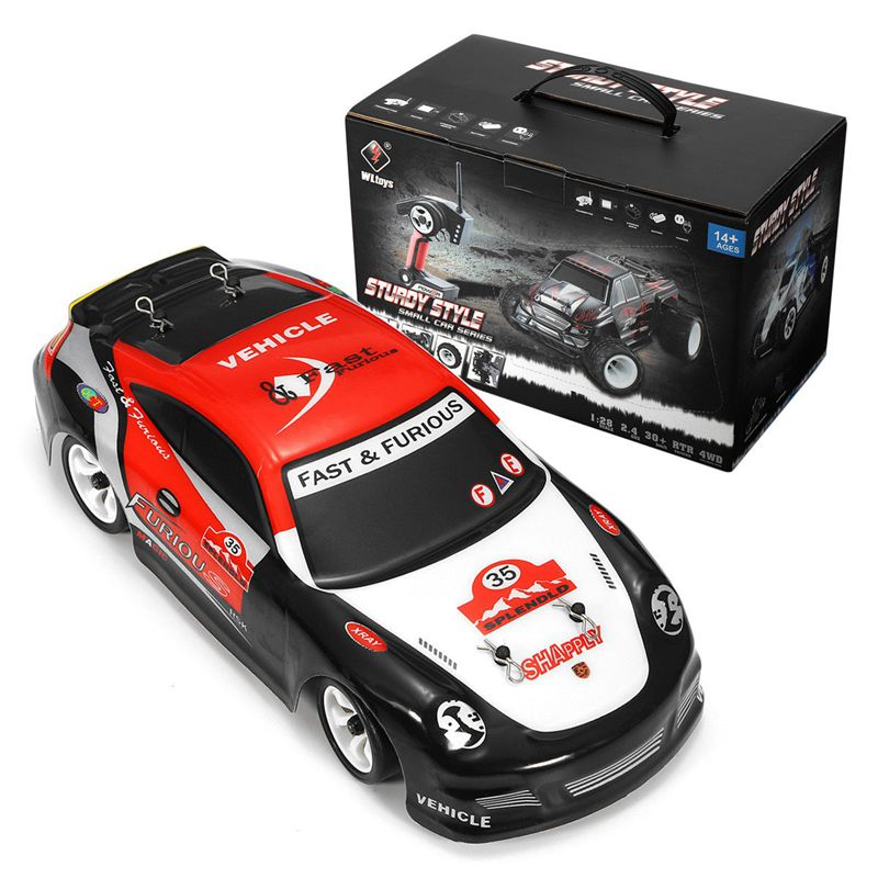 1X-Wltoys-K969-1-28-2-4G-4WD-cepillado-RC-coche-Drift-High-Speed-nino-juguete-8M miniatura 6