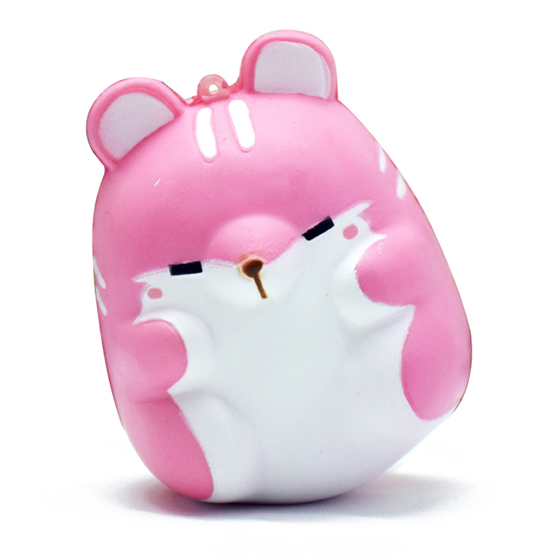 Cute Kawaii Soft Squishy Colorful Simulation Hamster Toy Slow Rising for An R6L3