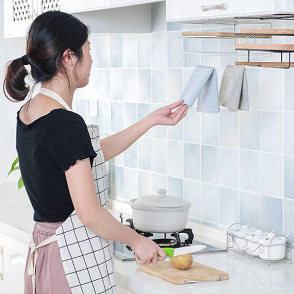 Armarios-de-cocina-de-hierro-de-doble-capa-Estante-de-la-tajadera-Estantes-A1M8 miniatura 3