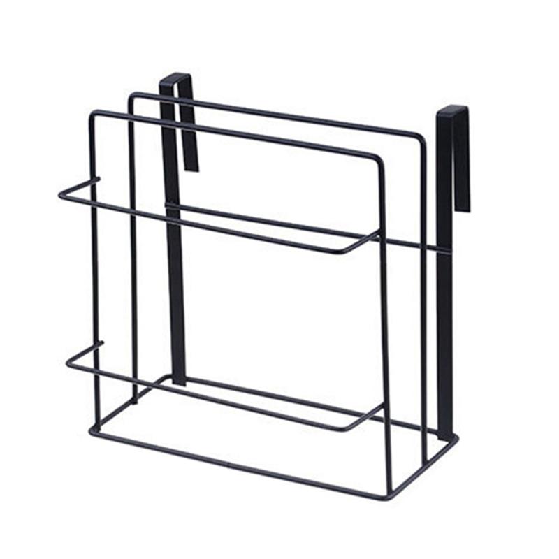 chopping board storage rack shelves kitchen holder rack free drilling black z2r6 192701828509