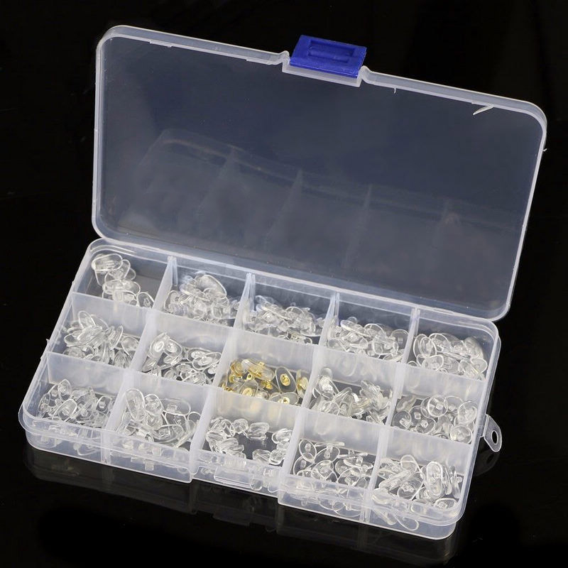 Silikon-Nasenpads-fuer-Brillen-Reparatur-Zubehoer-Werkzeug-fuer-Brillen-Son-Y7N4 Indexbild 4