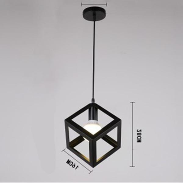 Eclairage-Plafond-Abat-jour-avec-un-support-de-suspension-Metal-industriel-SC miniature 7