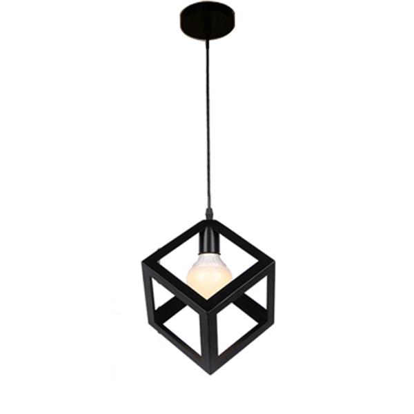 Eclairage-Plafond-Abat-jour-avec-un-support-de-suspension-Metal-industriel-SC miniature 8