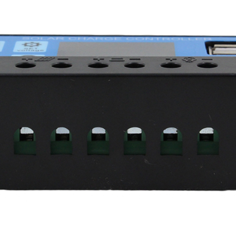 10A 12V 24V Auto Arbeit PWM Solar Laderegler mit LCD Dual USB 5V Ausgang So X6T2