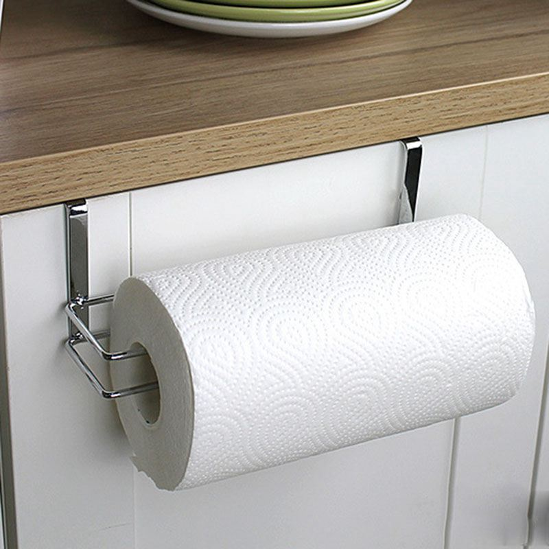 Kitchen Paper Holder Hanger Tissue Roll Towel Rack