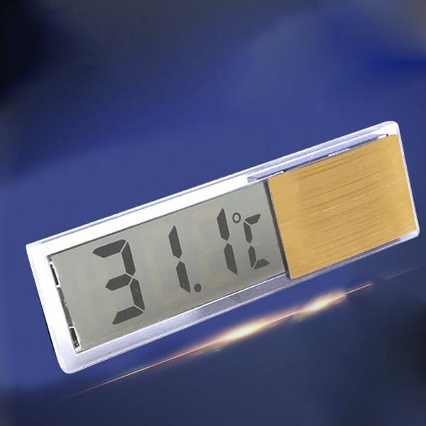 LCD Kühlschrank Aquarium Aquarium Wassertank Thermometer Temperaturanzeige Neu