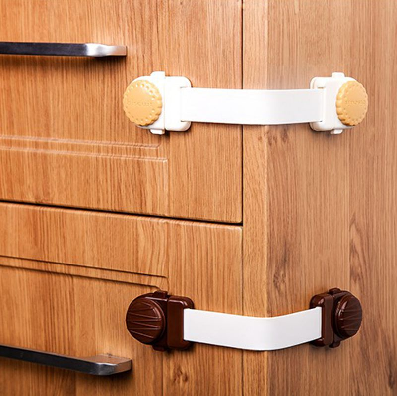 Baby Safety Protection Cabinet Locks Children Monitor Belts