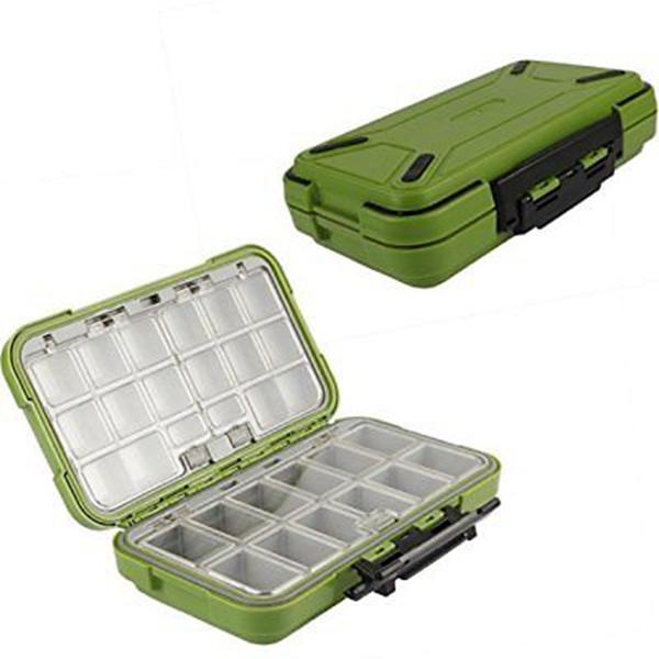 5X(Lure Fishing Box 24 24 24 Compartimentos Caja de Pesca de Doble Capa Caja de AP5T3) aa22de