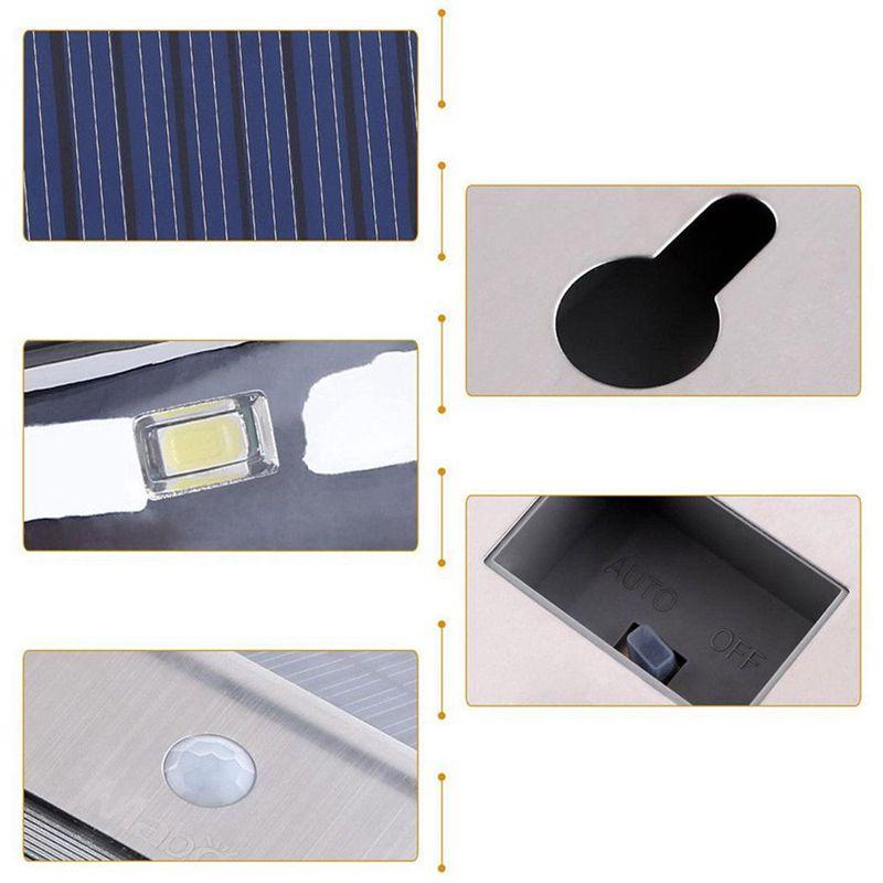 Lampara-solar-IP65-al-aire-libre-Impermeable-Garden-Path-Lampara-de-luz-Sol-R2D8 miniatura 8