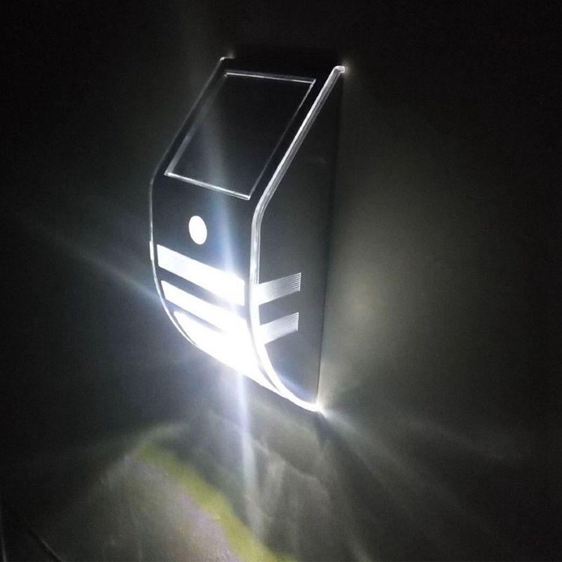 Lampara-solar-IP65-al-aire-libre-Impermeable-Garden-Path-Lampara-de-luz-Sol-R2D8 miniatura 12