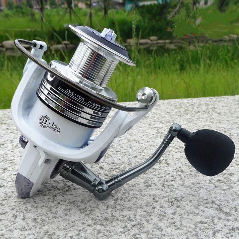 LIE-YU-WANG-13-1BB-rapport-d-039-engrenage-5-2-1-moulinet-de-peche-tournoyant-9C6 miniature 10