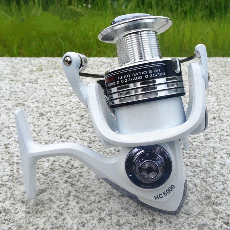 LIE-YU-WANG-13-1BB-rapport-d-039-engrenage-5-2-1-moulinet-de-peche-tournoyant-9C6 miniature 11
