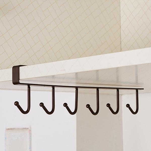 Support-de-rangement-de-cuisine-Armoire-suspendue-crochet-etagere-Etagere-de-71 miniature 8