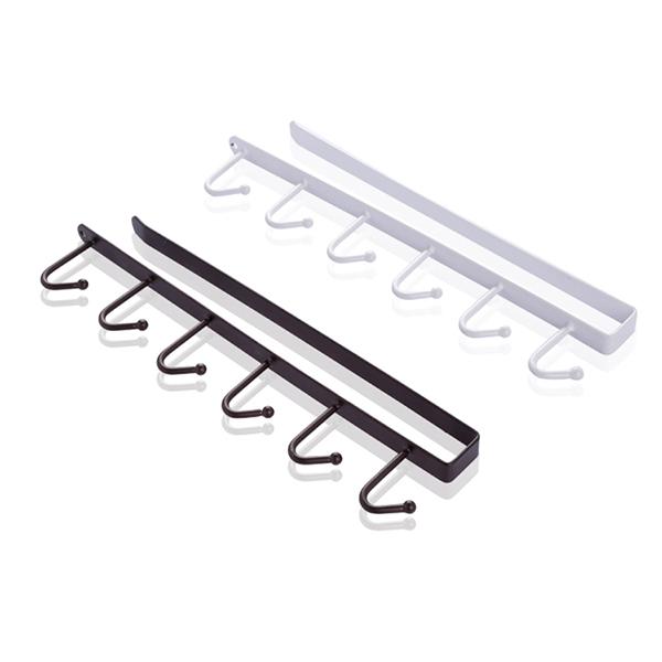 2X-Support-de-rangement-de-cuisine-Armoire-suspendue-crochet-etagere-Etager-M1P9 miniature 19