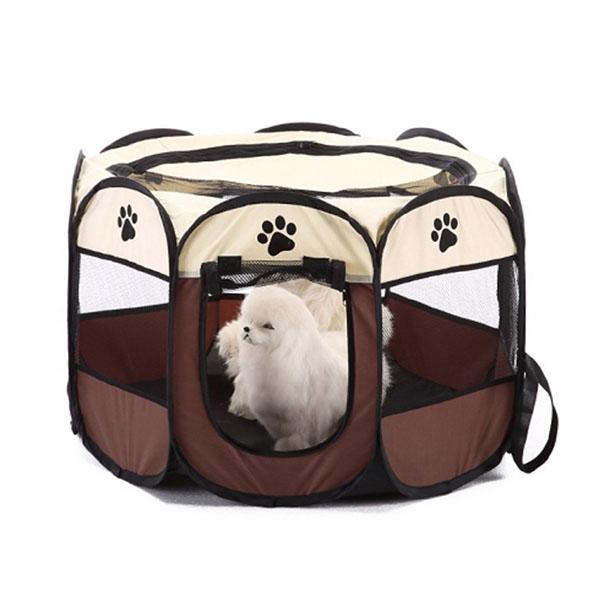Portatil-Plegable-tienda-de-mascotas-Dog-House-Cage-Dog-Cat-Carpa-Playpen-P-F3M4 miniatura 3