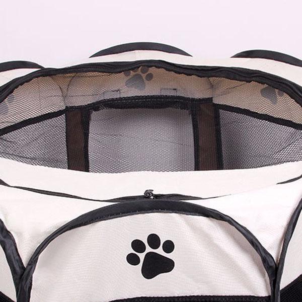 Portatil-Plegable-tienda-de-mascotas-Dog-House-Cage-Dog-Cat-Carpa-Playpen-P-Z2H9 miniatura 9