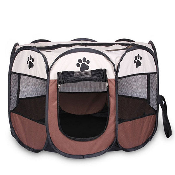 Portatil-Plegable-tienda-de-mascotas-Dog-House-Cage-Dog-Cat-Carpa-Playpen-P-Z2H9 miniatura 2