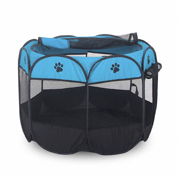 Portatil-Plegable-tienda-de-mascotas-Dog-House-Cage-Dog-Cat-Carpa-Playpen-P-Z2H9 miniatura 15
